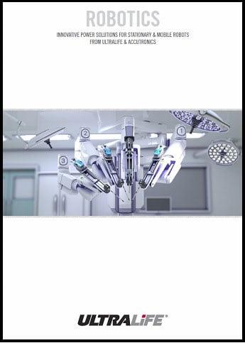 Robotics Brochure Cover